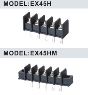 EX45H/EX45HM 9.50mm barrier terminal block connector