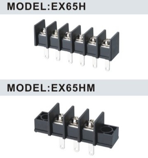 EX65H/EX65HM 11.0mm Barrier Terminal Block Connector