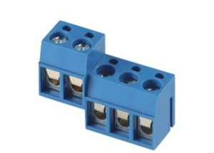 EX300R-5.0mm PCB Screw Terminal Blocks