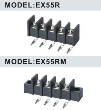 EX55R/EX55RM 10.0mm Barrier Strip Terminal Block
